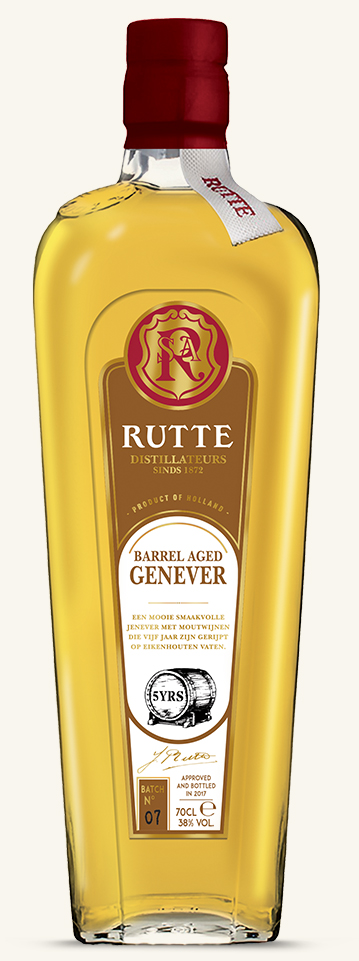 Rutte barrel aged genever